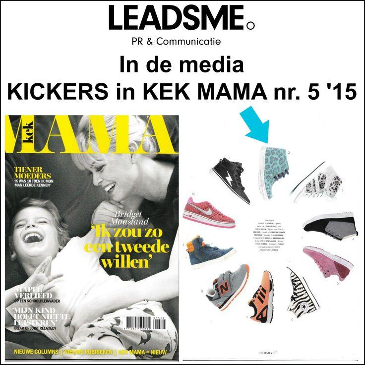@Kickers schoenen in @kekmamamagazine  nr 5 '15