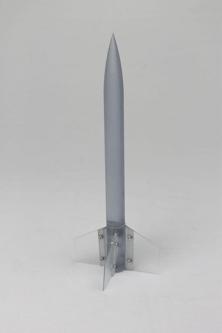 #Pencil Rocket #3Dprint φ18 x 240