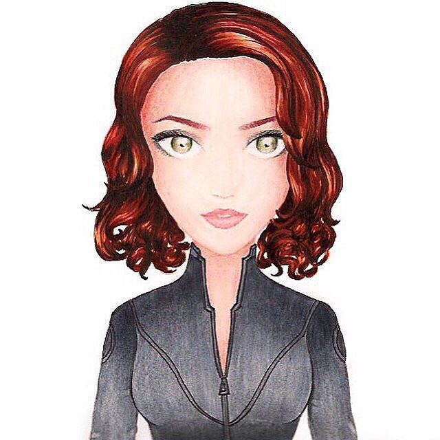 иαтнαℓιє @heart2draw Black Widow #cop...Instagram photo | Websta (Webstagram)