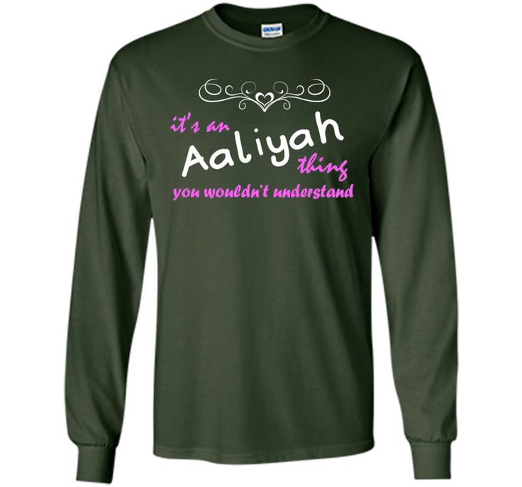 It's an Aaliyah Thing You Wouldn't Understand - Name T-Shirt shirt