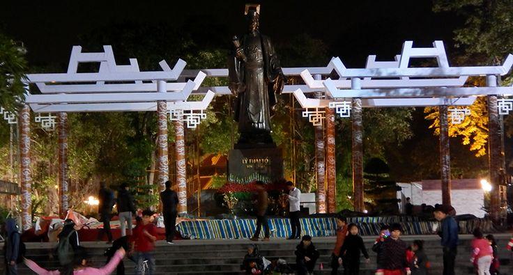 Park Ly Thai To v Hanoji. #hanoj #cestovani #park #travel #vietnam