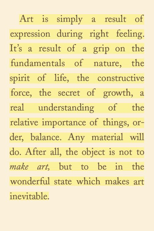 """Visualinguist Andrew J Nilsen: From """"The Art Spirit"""" By Robert Henri. You Should Read"""