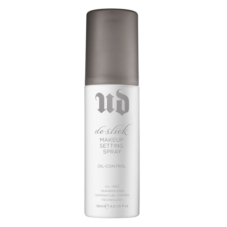 De-Slick Oil-Control Makeup Setting Spray by Urban Decay - I use it when I want my make-up to stick and it works!