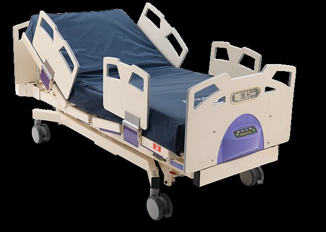 Stryker Bari 10A Bariatric Hospital Bed 52 inches wide 1,000 LB patient weight  #Stryker