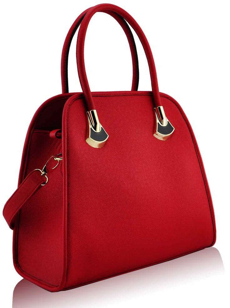 çanta moderne të kuqe
