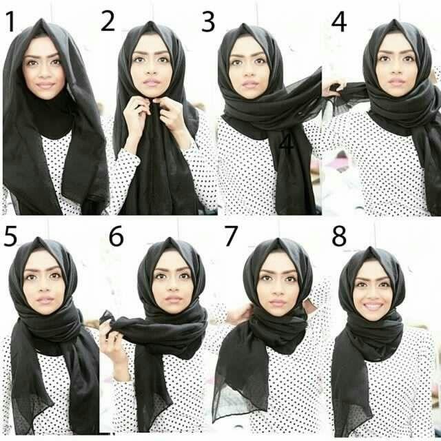 Hijab Tutorials Cr:unknown