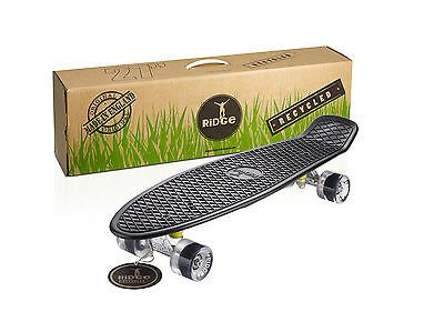 """Recycled mini #cruiser 27"""" made in uk eco #nickel board retro ridge #skateboards,  View more on the LINK: http://www.zeppy.io/product/gb/2/151889139982/"""