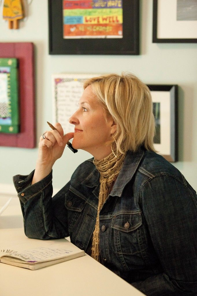 "Brené Brown is a Grounded Researcher. ""I started as someone looking for answers and ended as someone who has found joy living in the questions."""
