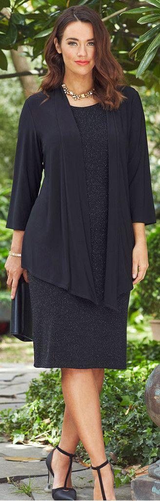 Dress and Jacket Set 169 Isabella Fashions