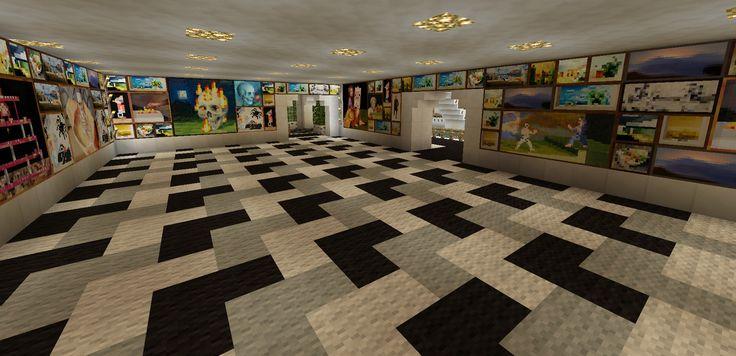 Minecraft Art Room and Decor Carpet Design Creations