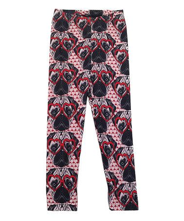 Look what I found on #zulily! Pink Pug Leggings - Infant, Toddler