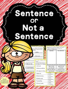 This pack is a basic introduction to sentences. The goal of this pack is for…