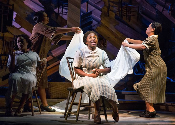 "Wow!!! What a rave review.  Would LOVE to this!!!   ""Under John Doyle's direction, this revival of the musical based on Alice Walker's novel forgoes sumptuousness in favor of vivid character development."""
