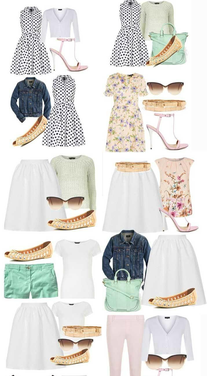 Капсульный летний гардероб