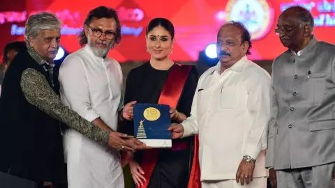 Kareena Kapoor Khan also spoke about her grandfather Raj Kapoor's love for Karnataka. The veteran Bollywood actor-director had reportedly shot many of his films in Mysuru.