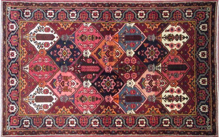N. 342496 BAKHTIARI( FRAHDUNBEH) 254 x 163 cm