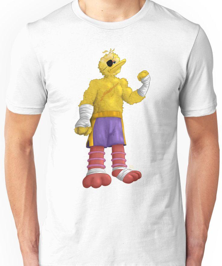 Sesame Street Fighter: Big Bagat Unisex T-Shirt
