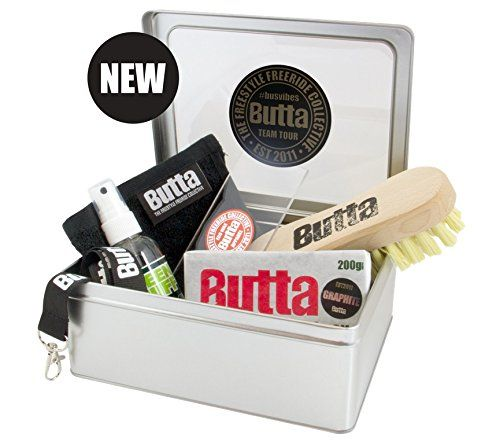 Butta Graphite Wax Service Kit - Ski and Snowboard Butta Graphite Wax is the new kid on the block and what an entrance, it was at the Innsbruck Air andamp
