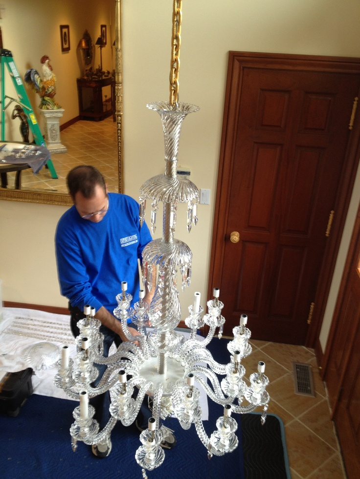 17 Best images about Favorite chandelier projects on Pinterest:Chandelier cleaning. Residence. New Jersey,Lighting