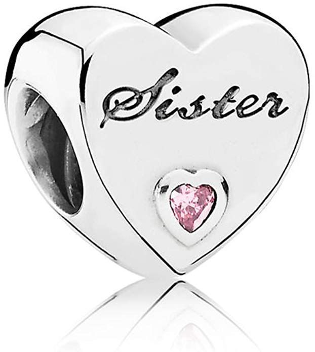 Link goes to amazon. Pandora Jewelry - Sister's Love Charm in ...