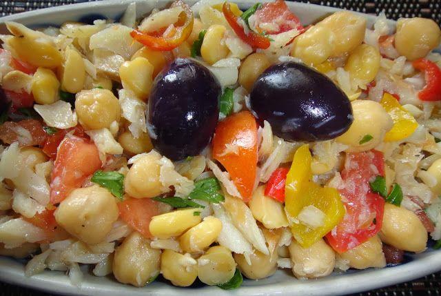 Fórmula Perfumada: Salada de Bacalhau com Grão de Bico