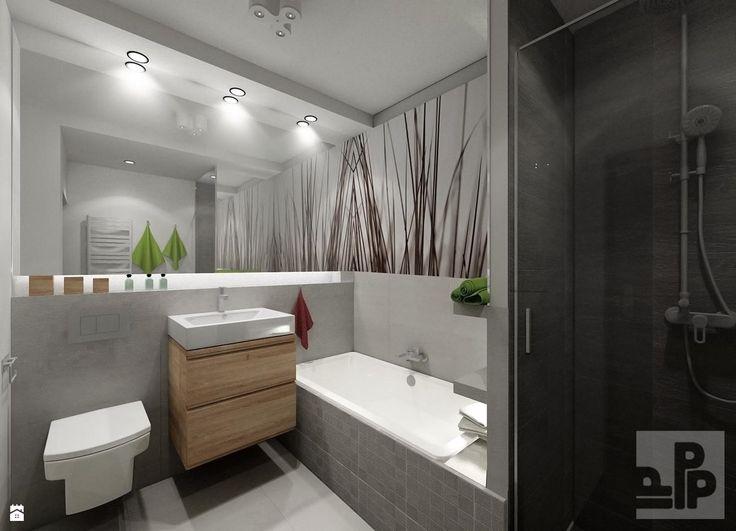 Apartament, Będzin - zdjęcie od Pogotowie Projektowe Aleksandra Michalak - Łazienka - Styl Skandynawski - Pogotowie Projektowe Aleksandra Michalak