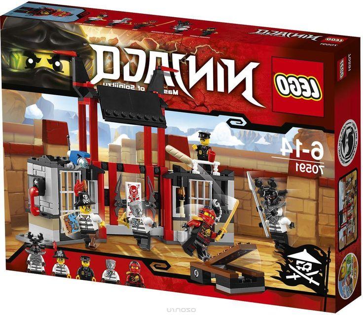 Lego Ninjago Конструктор Побег из тюрьмы Криптариум 70591