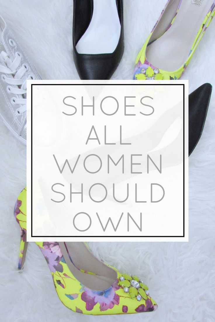 Shoes Every Woman Should Have in Her Wardrobe | #Fashion POST by Elite Member @izabelanair  | #fbloggers