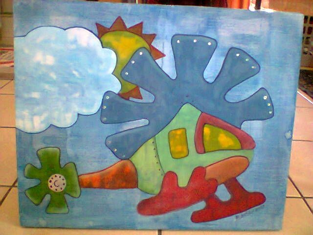 Painted on fabric with paint and food colouring. ZAR250.00 excluding p+p. USD25.00. 300 x 400 mm
