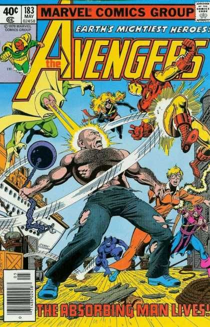 Avengers 183 the Absorbing Man George Perez Marvel comics group