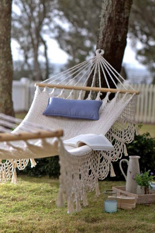 31 best Hammocks images on Pinterest Outdoor hammock, Decks and
