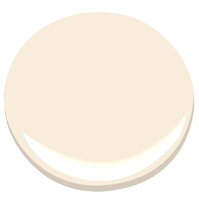 Benjamin Moore : Colonial Cream OC-77 goes with Cloud White OC-130