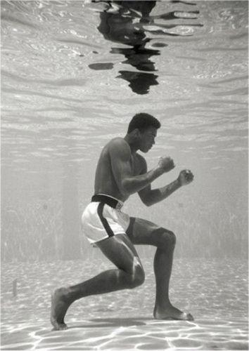 Muhammad Ali - Underwater