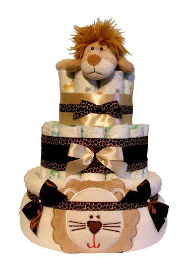 Plienková torta Kráľ džungle