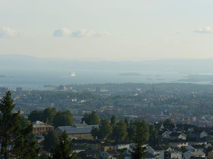 29 July: Oslo jako na dlani aneb výhled od nás z kopce