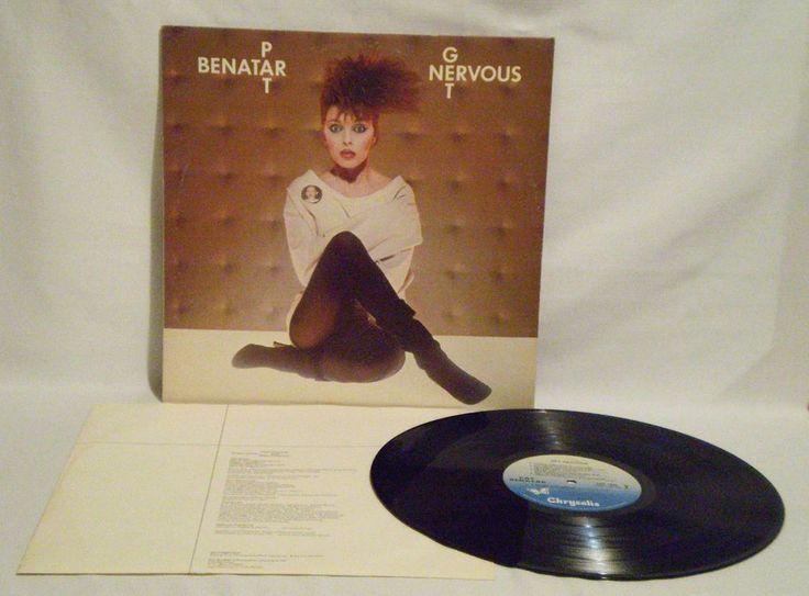 PAT BENATAR, Get Nervous,1982, Chrysalis, Canada Press,  Pop Rock, NM- #PopRock
