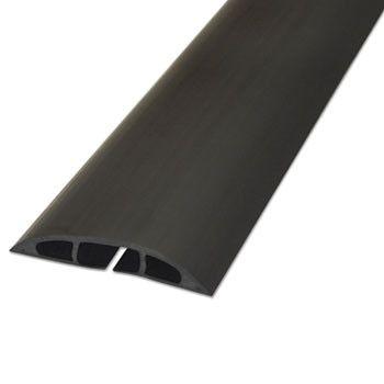 "Light Duty Floor Cable Cover, 72"" X 2 1/2"" X 1/2"", Black"