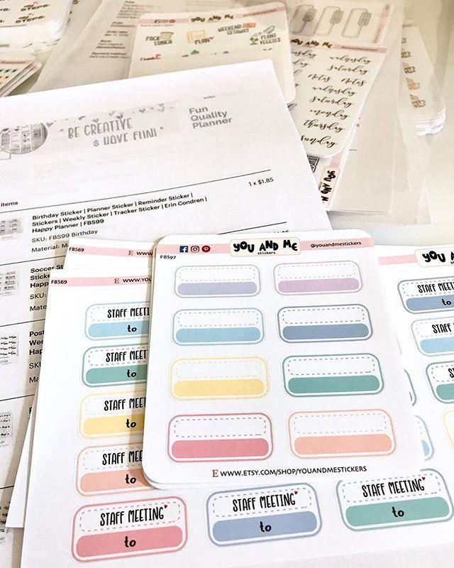 Meeting Planner Stickers//Erin Condren Stickers//Happy Planner