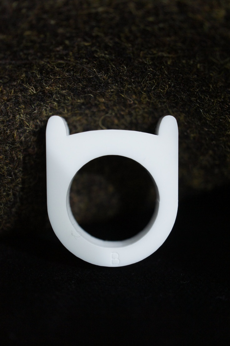 Adventure Time Finn's Hat ring. £3.50, via Etsy.