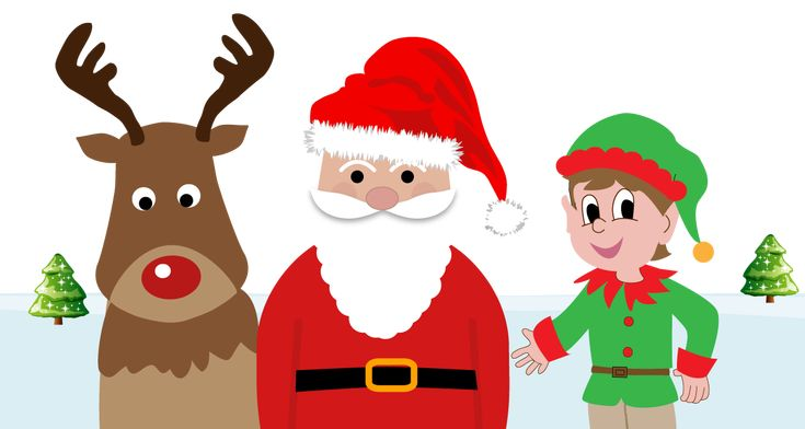 Find out all about Santa Claus, his elves and his reindeer #Christmas