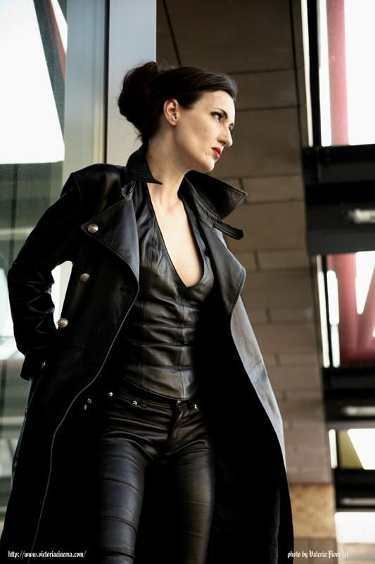 Beautiful Girl zz | Mature Gems | Leather fashion, Leather ...