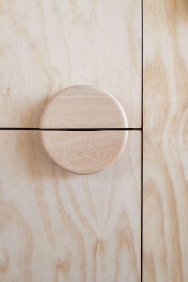 Door knob detail