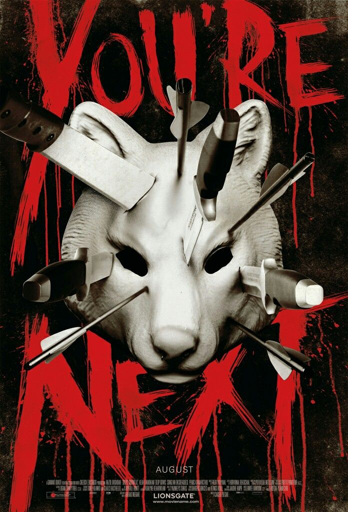 Youre Next Horror Movie Poster