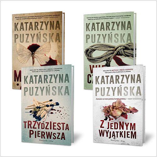 Katarzyna Puzyńska. Motylek, Więcej czerwieni, Trzydziesta pierwsza, Z jednym wyjątkiem - PAKIET - Książki