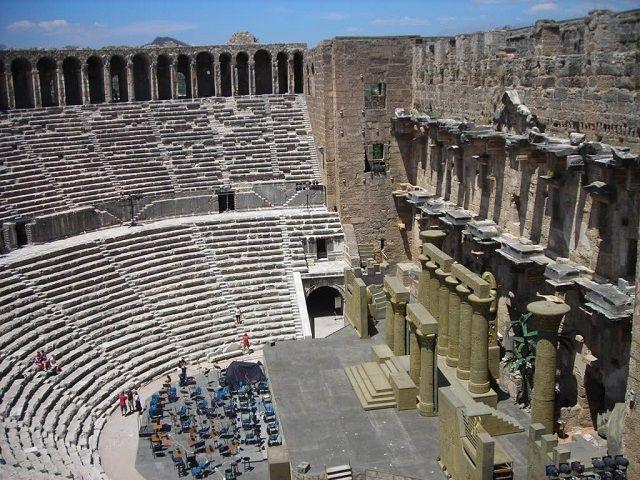 Aspendos Theatre #belek #antalya #turkey #travel #holiday