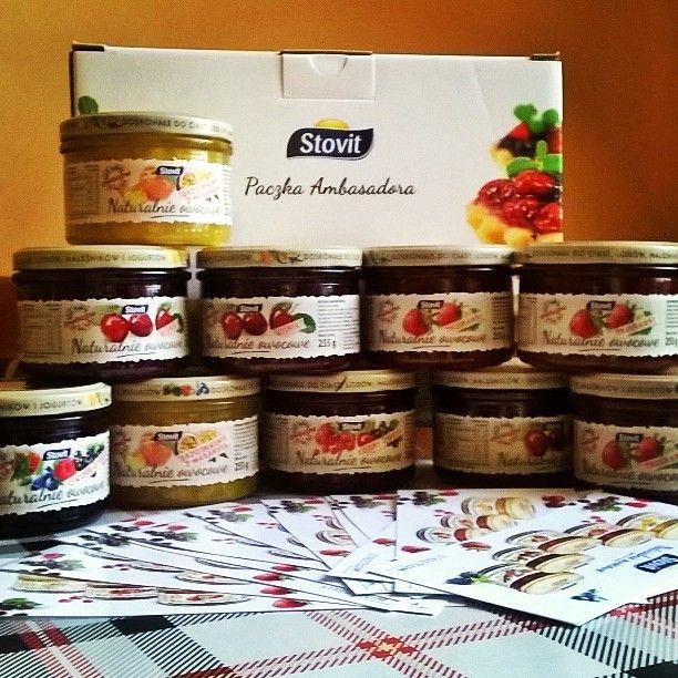 Paczka ambasadorska juz u mnie w domu  rozpoczynamy pyszną kampanię ze @Streetcom_polska #NaturalnieOwocowe #Stovit
