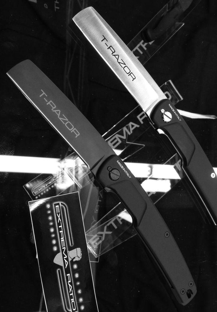 Extrema Ratio EX1000138 T Razor Black EDC Folding Knife Blade