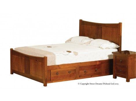 5 curlew pine bed frame - Pine Bed Frame