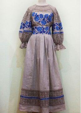 Платье натуральный лен ПЛ-770128