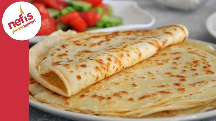 ✿ ❤ ♨ Kahvaltılık Krep Tarifi (Sesli Anlatımı ile) | Nefis Yemek Tarifleri